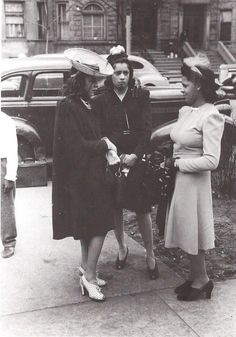 black_women_1940s_fashions