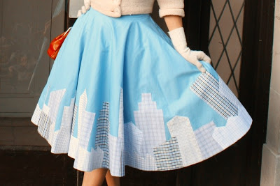 CityScape_ Circle _Skirt