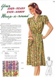 Wrap-a-round Dress