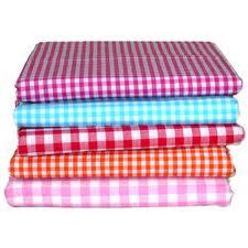 Gingham Folded Fabrics