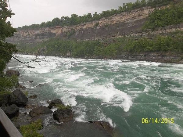 NIagara flowing