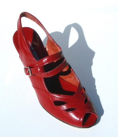 Anita Shoe Red