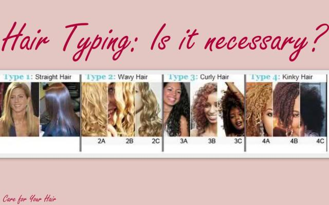 Hair Typing ChartHair Typing Chart