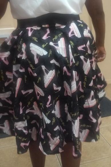 Circle Skirt Rear