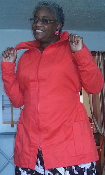 Red Minoru Jacket