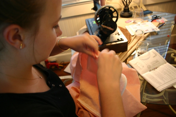 Sweetness 1 Sewing