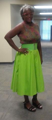 Green-Circle-Skirt