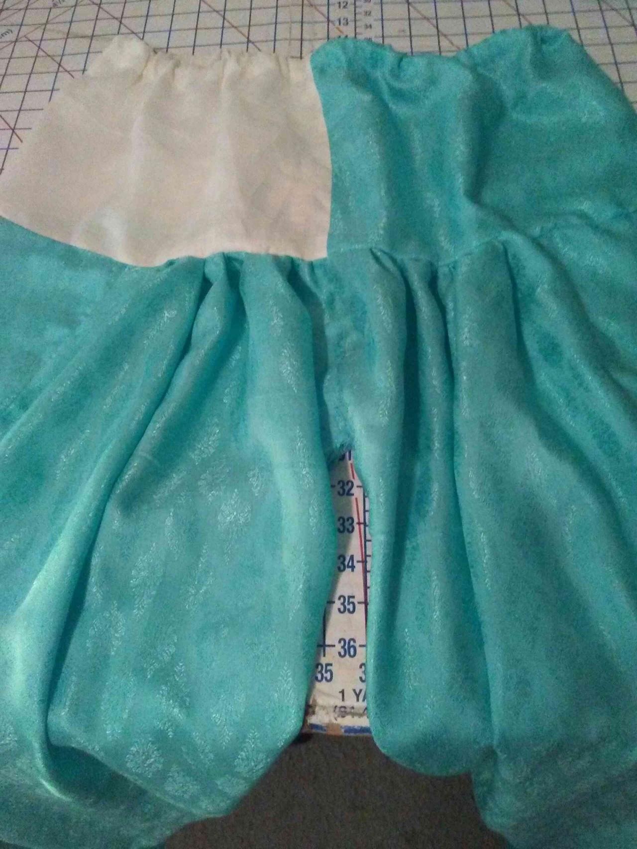 Seafoam green salwars