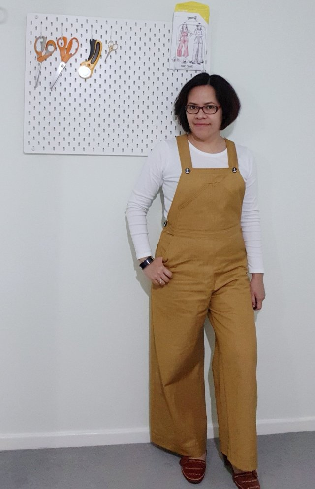 Jenny Overalls - Closet Case pattern review by The Fair Stitch.